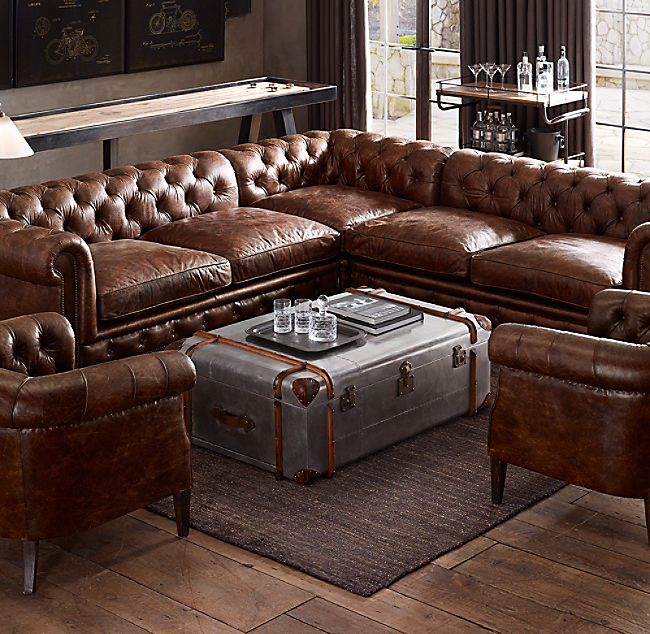 100 images restoration hardware kensington sofa