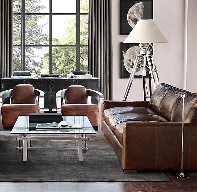 9 Maxwell Leather Sofa, Maxwell Leather Sofa