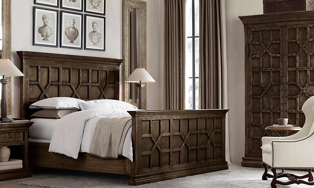 Rooms restoration hardware for Bedroom furniture restoration hardware