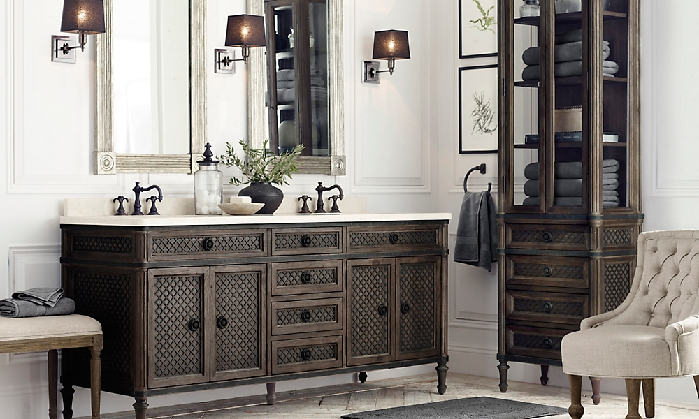 Rooms restoration hardware Empire bathrooms