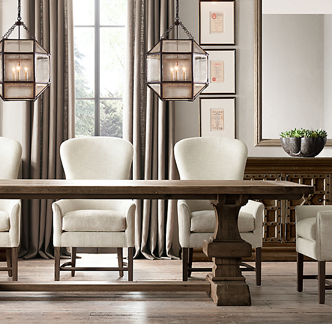 Extendable Dining Table Restoration Hardware Dining Room
