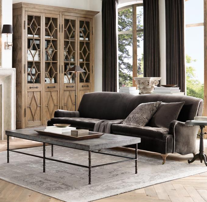 Rowen Bluestone Rectangular Coffee Table