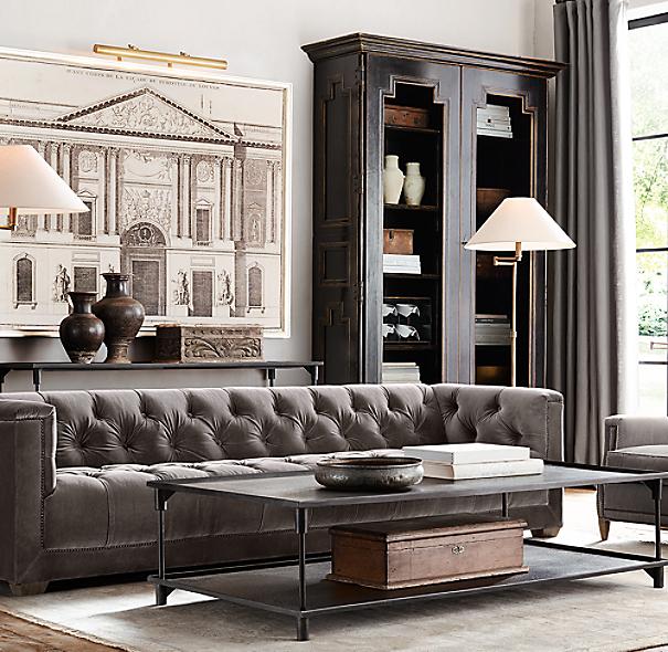 Restoration Hardware Return Policy savoy upholstered sofa