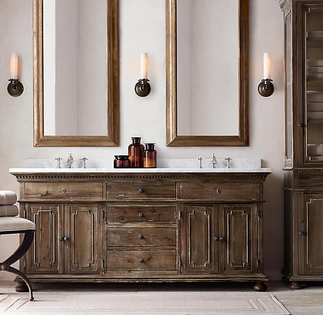 Cotton Woven Bath Rug - Sage bath rug for bathroom decorating ideas