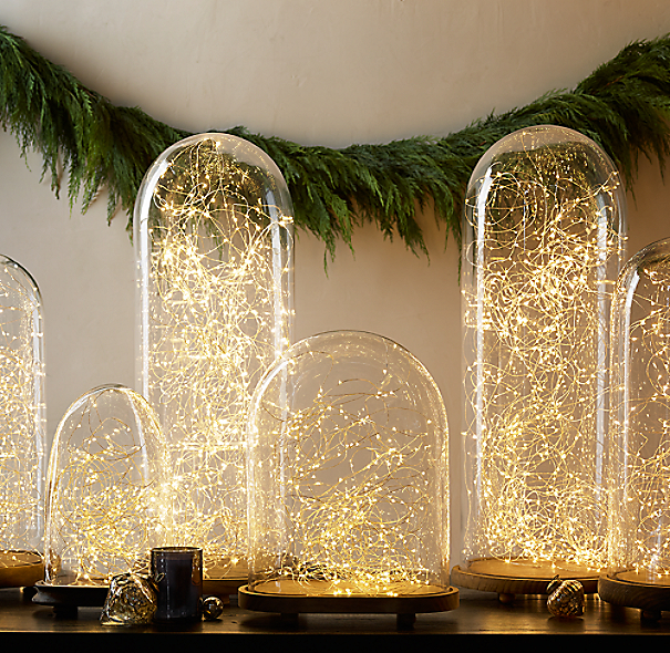 Restoration Hardware Starry String Lights Instructions: 1920s French Glass Cloche Collection