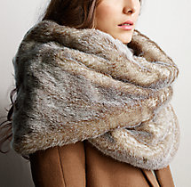 Luxe Faux Fur Wrap