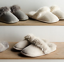 Ultra Faux Fur Slippers