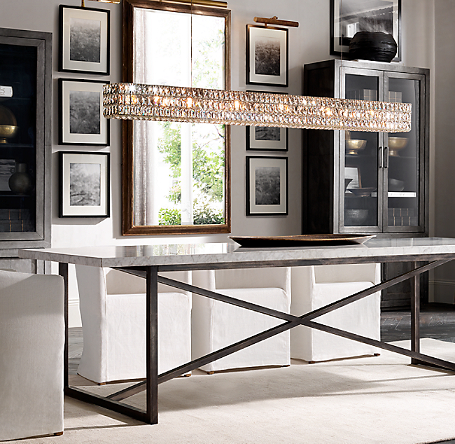 Torano Marble Rectangular Dining Table Color Preview Unavailable Previous