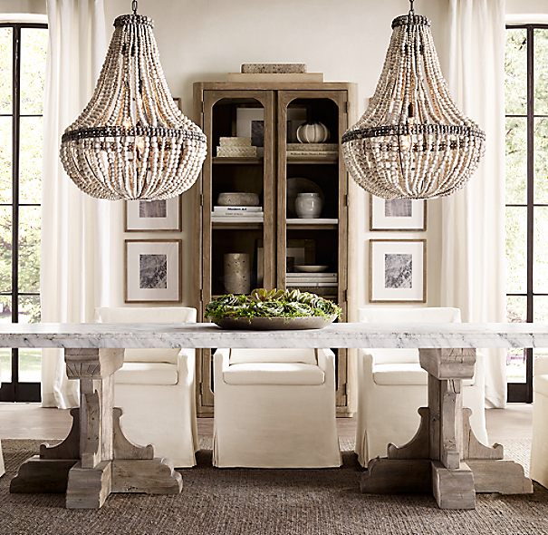 17th C French Bastide Oak Amp Marble Rectangular Dining Table