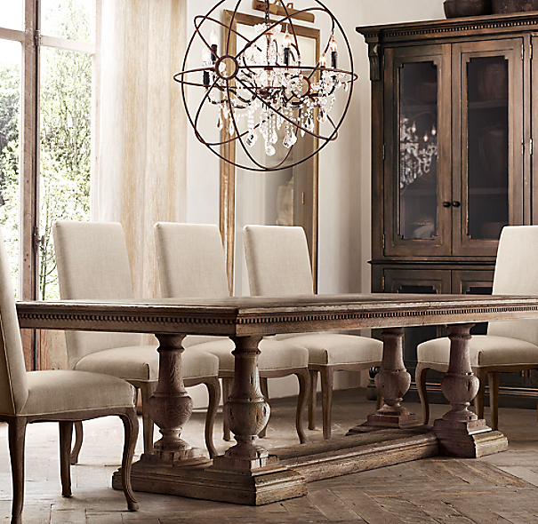 Restoration Hardware Dining Room Impressive Stjames Rectangular Extension Dining Table Inspiration