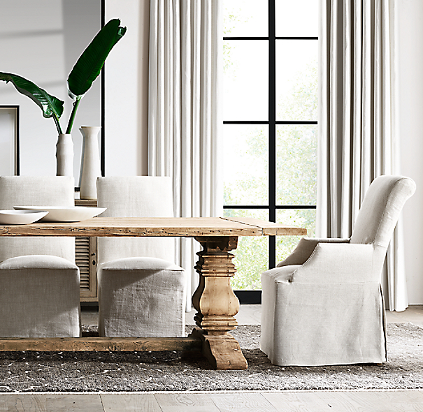 Trestle Extension Dining Table