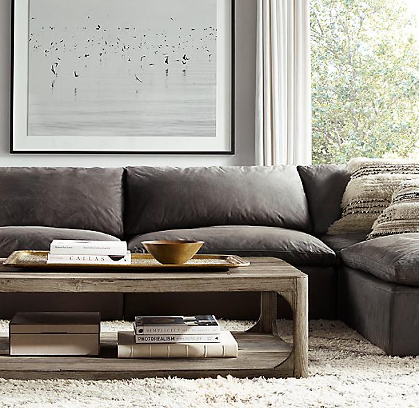 rh coffee table | nick boynton furniture