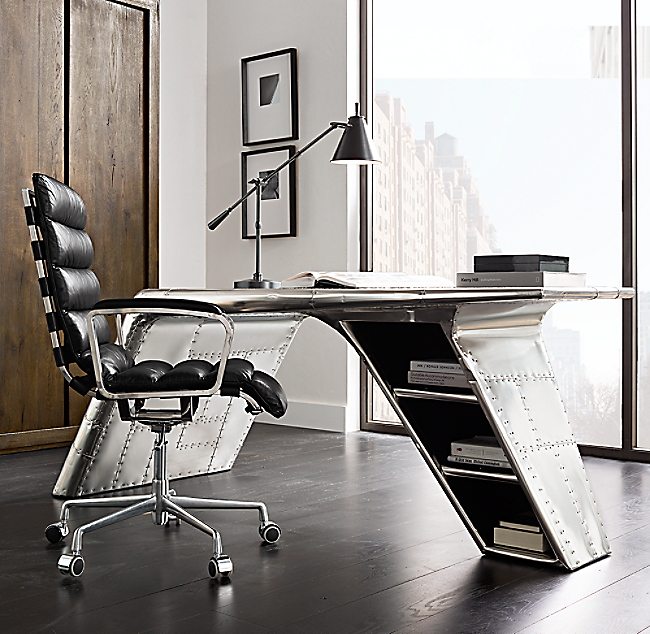 Aviator Wing Desk. COLOR PREVIEW UNAVAILABLE. Click to Zoom