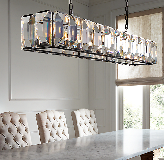 Harlow crystal rectangular chandelier 74 harlow crystal rectangular chandelier 74 color preview unavailable click to zoom aloadofball Images