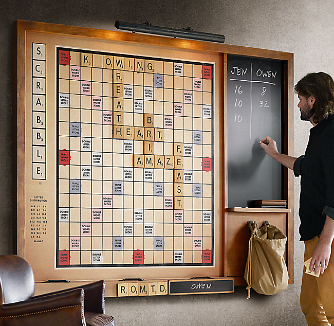 Giant Wall Scrabble