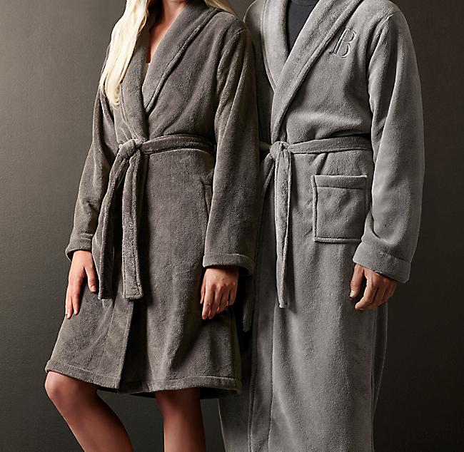 595b25b8b2 Luxury Plush Long Robe