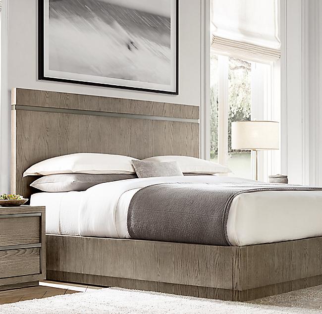 Bezier Platform Bed