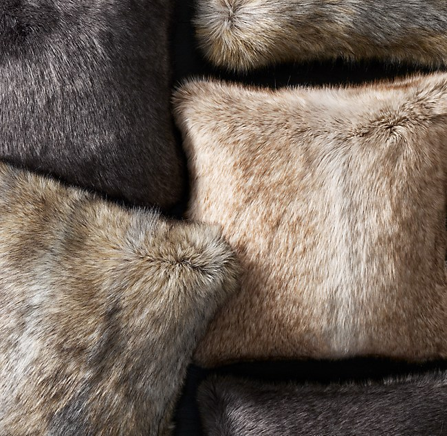 Ultimate Faux Fur Pillow Cover