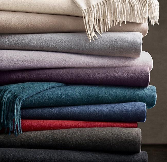 24310e7ddfab Restoration Hardware Cashmere Blanket – 2019 Inspirational Throw ...