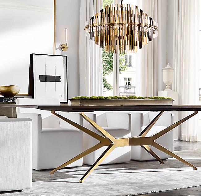 Maslow Spider Rectangular Dining Table
