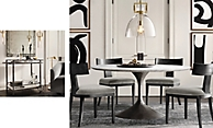 Shop Aero Marble Dining Table