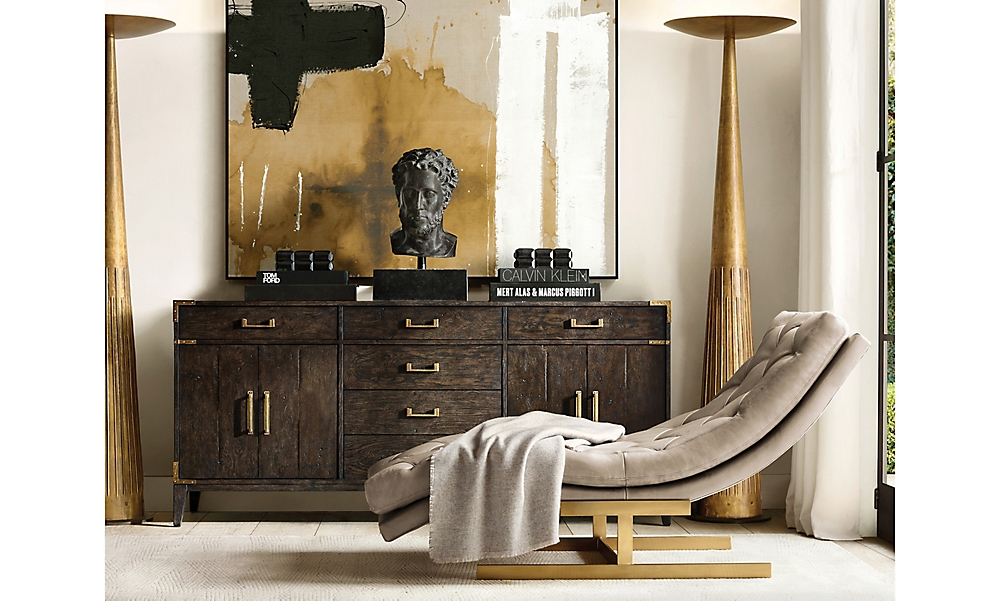 shop Campaign Brown Sideboard