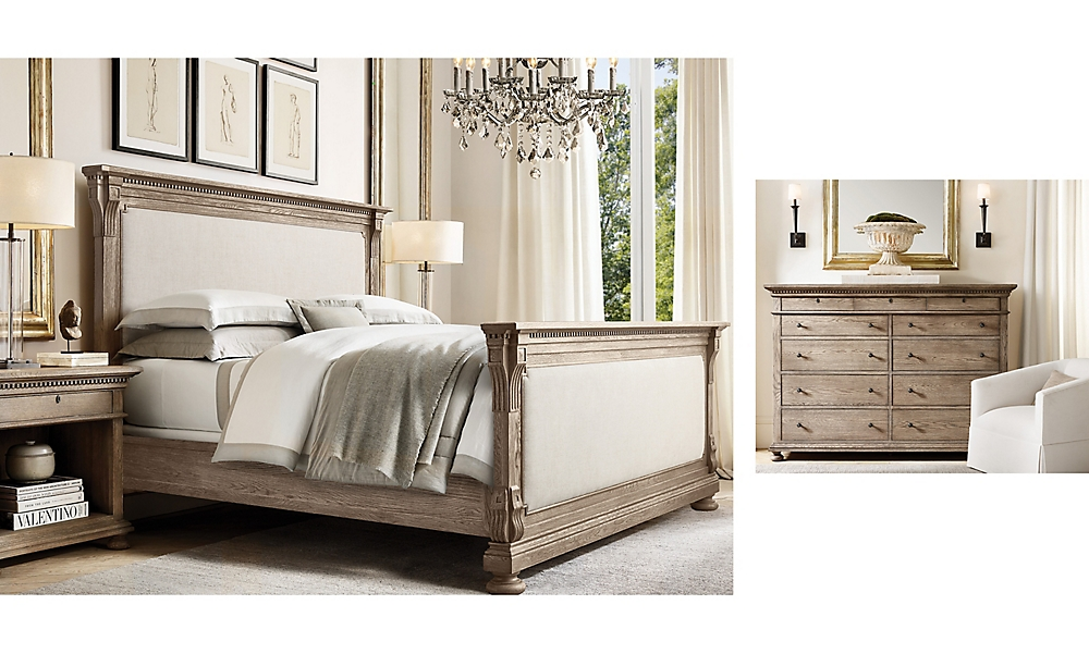 shop St James Grey Uph Bed