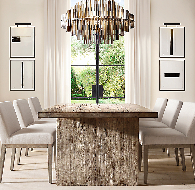 Dining Room Restoration Hardware Furniture Dining Room Ideas Designs And Inspiration