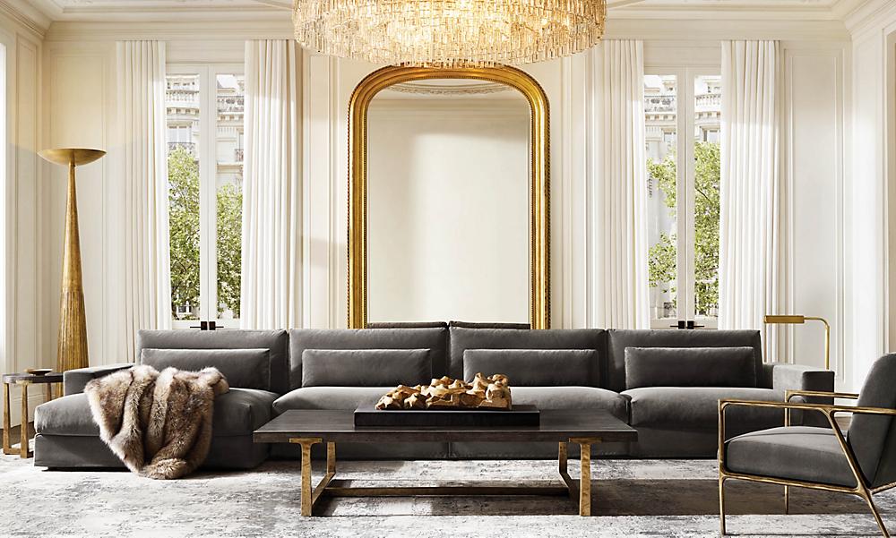 Rooms Rh, Restoration Hardware Inspired Furniture