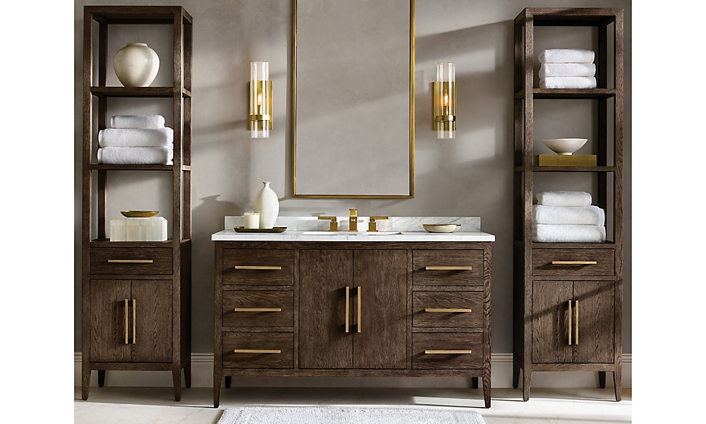shop French Contemporary Brown Bath