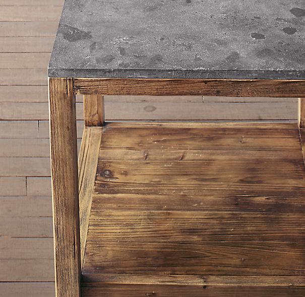 Bluestone Parsons Side Table
