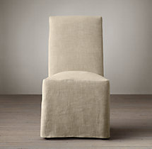 Replacement Slipcover for Hudson Roll-Back Slipcovered Side Chair