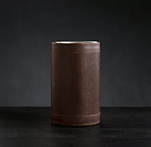 Italian Leather Single Bottle Wine Cooler
