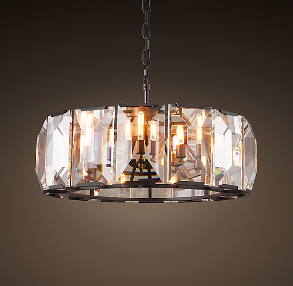 "Restoration Hardware Lighting Chandeliers: Harlow Crystal Chandelier 31"""