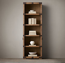 Heirloom Silver-Chest Narrow Single Shelving