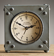 WWI Army Engineer's Field Clock