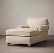 Classic Lancaster Upholstered Chaise