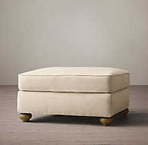 Classic Lancaster Upholstered Ottoman