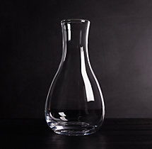 Mouthblown Scissor Cut Carafe
