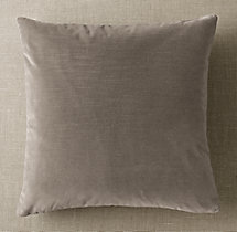 Custom Vintage Velvet Knife-Edge Square Pillow Cover