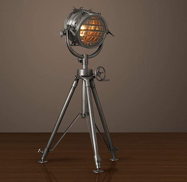 Quentin Light Restoration Hardware: Royal Master Sealight Floor Lamp
