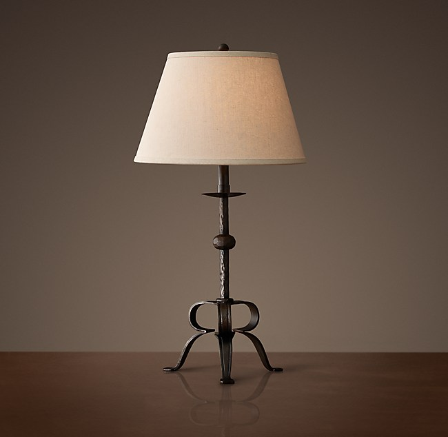 Peyton Cast Iron Table Lamp