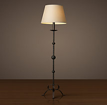 Peyton Cast Iron Floor Lamp