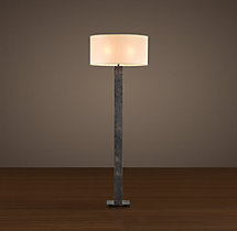 Square–Column Floor Lamp