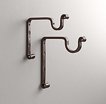 Cast Iron Center Bracket - Vintage Bronze