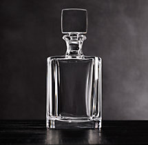 Pierpont Cut Crystal Short Decanter