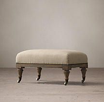 Islington Chesterfield Upholstered Ottoman