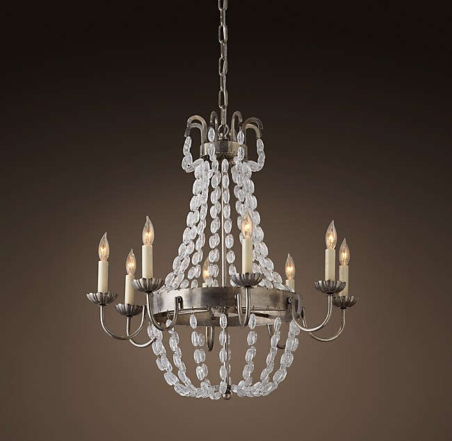 Marché French Empire Glass Chandelier 24