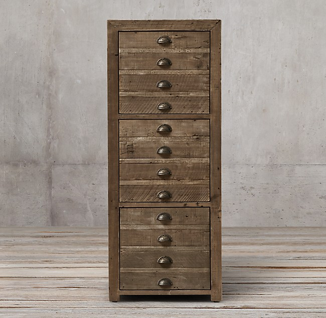 printmaker's 3-drawer file cabinet 3 drawer file cabinet
