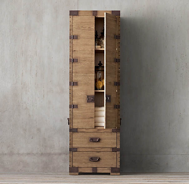 heirloom silver chest tall bath cabinet